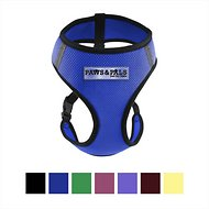 OxGord Control Black Pet Harness, Blue, Small