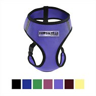 OxGord Control Black Pet Harness, Purple, Medium