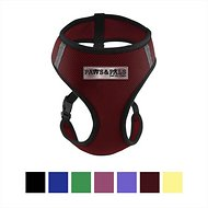 OxGord Control Black Pet Harness, Red, Small