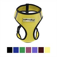 OxGord Control Black Pet Harness, Yellow, Small