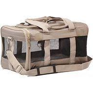 Sherpa Original Deluxe Pet Carrier, Gray, Medium