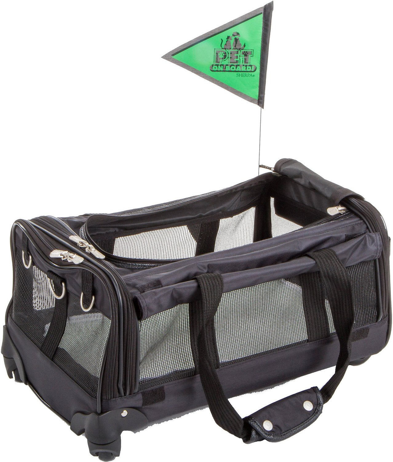 Sherpa Ultimate On Wheels Pet Carrier Chewy Com