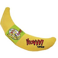 Yeowww! Catnip Yellow Banana Cat Toy