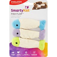 SmartyKat Fish Flop Catnip Crinkle Cat Toy
