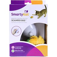 SmartyKat Scamper Bug Remote Controlled Cat Toy