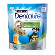 DentaLife Daily Oral Care Mini Dental Dog Treats, 58 count