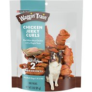 Waggin' Train Chicken Jerky Curls Dog Treats, 3-oz bag