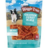 Waggin' Train Chicken Jerky Minis Dog Treats, 11-oz bag