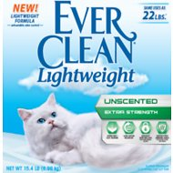 Ever Clean Lightweight Unscented Extra Strength Cat Litter, 15.4-lb bag