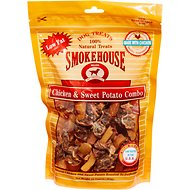 Smokehouse Chicken & Sweet Potato Dog Treats, 16-oz bag