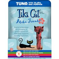 Tiki Cat Aloha Friends Variety Pack Wet Cat Food, 3-oz pouch, case of 12