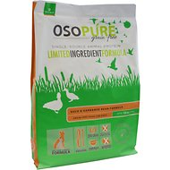 Artemis Osopure Duck & Garbanzo Bean Formula Grain-Free Dry Dog Food, 10-lb bag