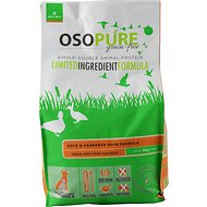 Artemis Osopure Duck & Garbanzo Bean Formula Grain-Free Dry Dog Food, 4-lb bag