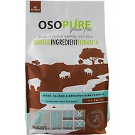 Artemis Osopure Bison & Garbanzo Bean Formula Grain-Free Dry Dog Food, 4-lb bag