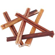"Bones & Chews Bully Stick 6"" Dog Treats, 6 count"