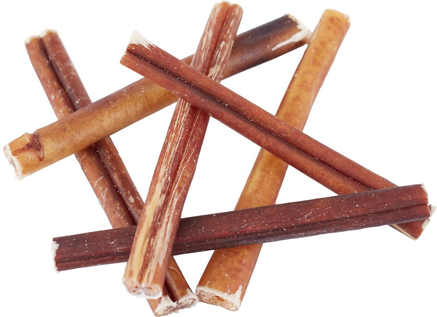 bones chews bully stick 6 dog treats 6 count. Black Bedroom Furniture Sets. Home Design Ideas