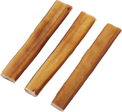 bones chews jumbo bully stick 6 dog treats 3 count. Black Bedroom Furniture Sets. Home Design Ideas