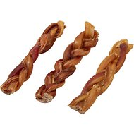 "Bones & Chews Braided Bully Stick 6"" Dog Treats, 3 count"