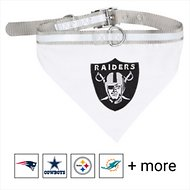 Pets First Oakland Raiders Bandana Dog & Cat Collar, Medium