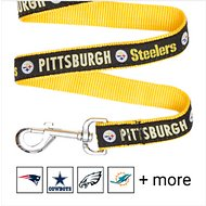 Pets First Pittsburgh Steelers Dog Leash, Large