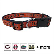 Pets First Auburn Tigers Dog Collar, Medium