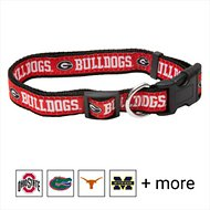 Pets First Georgia Bulldogs Dog Collar, Large