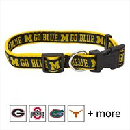 Pets First Michigan Wolverines Dog Collar, Medium