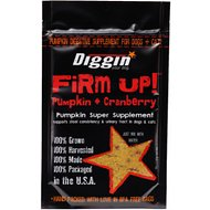 Diggin' Your Dog Firm Up! Pumpkin Plus Cranberry Super Dog & Cat Supplement, 4-oz bag