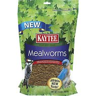 Kaytee Meal Worm Wild Bird Food, 17.6-oz bag