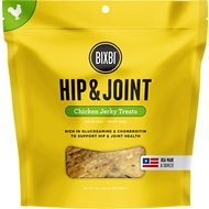 BIXBI Hip & Joint Chicken Jerky Dog Treats, 15-oz bag