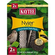 Kaytee Nyjer Seed Finch Sock Feeder, 2 count