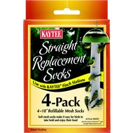 Kaytee Finch Station Straight Replacement Socks, 4 count