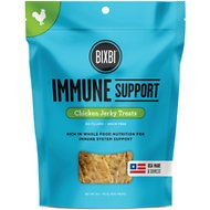 BIXBI Immune Support Chicken Jerky Dog Treats, 5-oz bag