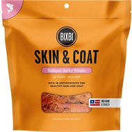 BIXBI Skin & Coat Salmon Jerky Dog Treats, 15-oz bag