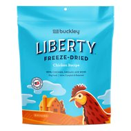 Buckley Liberty Chicken Recipe Grain-Free Freeze-Dried Dog Food, 20-oz bag