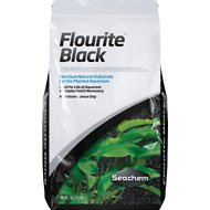 Seachem Flourite Black Planted Aquarium Natural Substrate Supplement, 15.4-lb bag