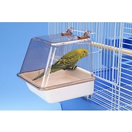 Penn-Plax Bird Bath with Universal Hanging Clips, 5.8-in