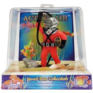 Penn-Plax Action Air Diver with Hose Aerating Aquarium Ornament, 4-inch