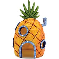 Penn-Plax SpongeBob Pineapple Home Aquarium Ornament, 6.5-inch