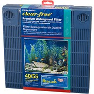 Penn-Plax Premium Underground Aquarium Filter, 55 gallon