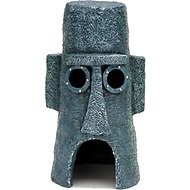 Penn-Plax SpongeBob Squidwards Home Aquarium Ornament, 6.5-inch