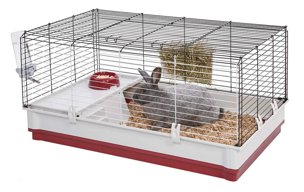 MidWest Wabbitat Deluxe Rabbit Home, 39.5-in - Chewy.com