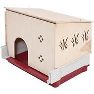 MidWest Wabbitat Deluxe Rabbit Home Wood Hut Expansion