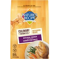 Nature's Recipe Culinary Favorites Rotisserie Recipe With Real Chicken & Garden Vegetables Dry Cat Food, 11-lb bag