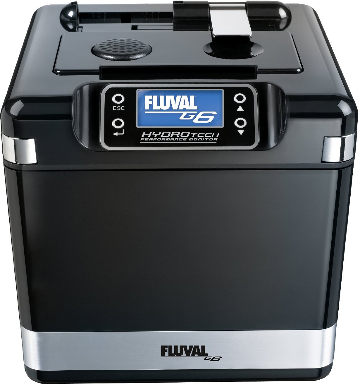 Fluval advanced aquarium filtration system size g6 for Fish filtration system