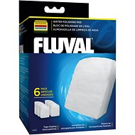 Fluval Fine Filter Water Polishing Pad, 6 count