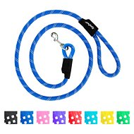 ZippyPaws Climbers Mountain Original Climbing Rope Dog Leash, Blue, 6-ft