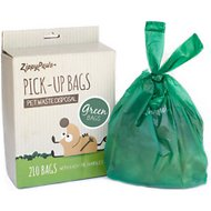 ZippyPaws Pick-Up Pet Waste Disposal Bags, 210 count