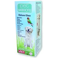 Lixit Deluxe Glass Pet Water Bottle, 32-oz bottle