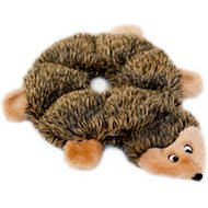 ZippyPaws Loopy Hedgehod 6 Squeaker Plush Dog Toy